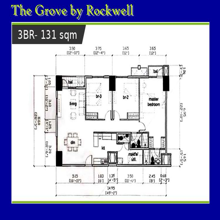 The Grove By Rockwell Condominiums Philippines For Rent