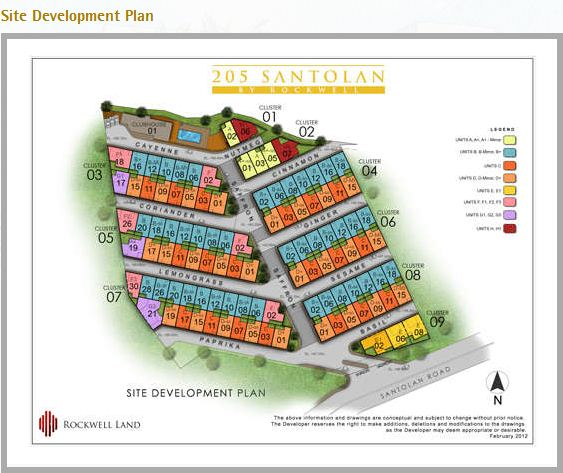 205 Santolan by Rockwell Land Townhouse For Sale in Quezon City Philippines (6/6)
