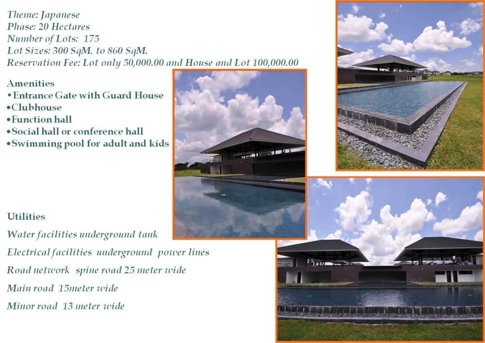 Tokyo Mansions for Sale at South Forbes Golf City in Metro Santa Rosa Laguna (2/6)