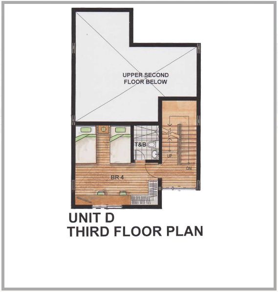 205 santolan by rockwell land townhouse for sale in quezon for Townhouse design plans philippines
