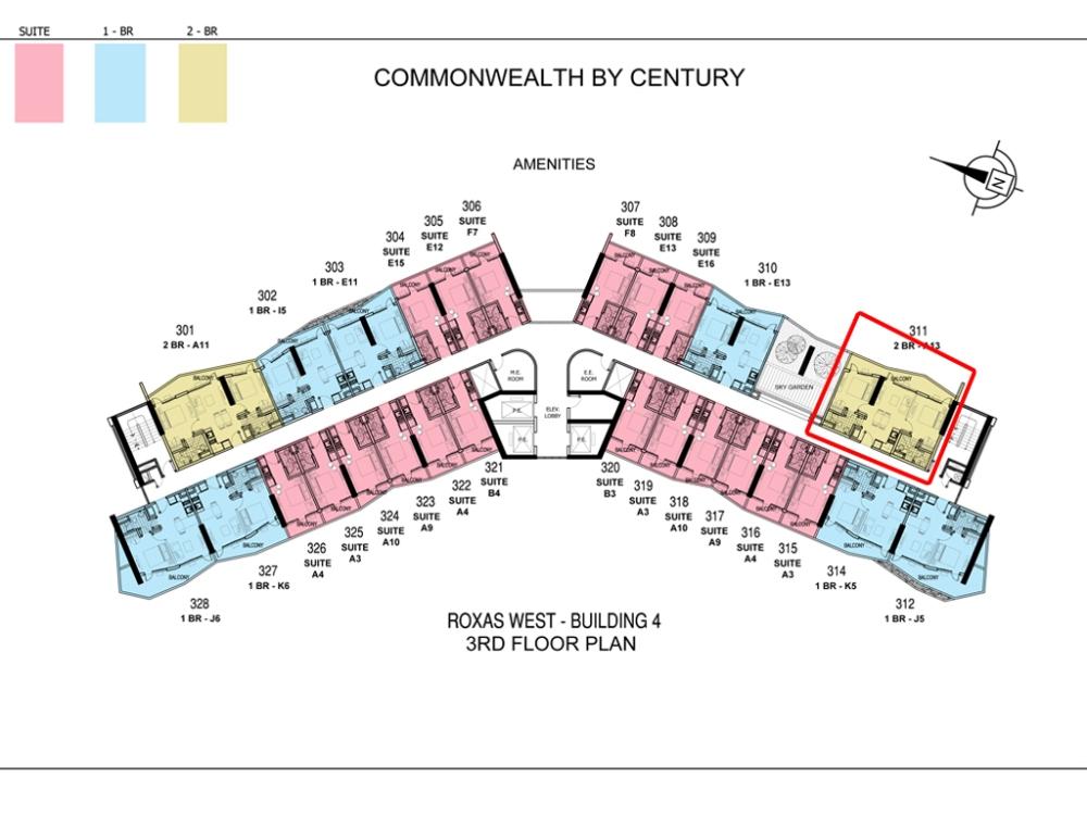 1-Bedroom Condo For Sale in Commonwealth Quezon City Near Ever Gotesco  (6/6)