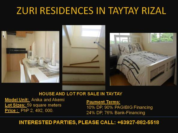 Zuri-Residences-house-and-lot-low-price-down-payment-taytay-antipolo-binangonan
