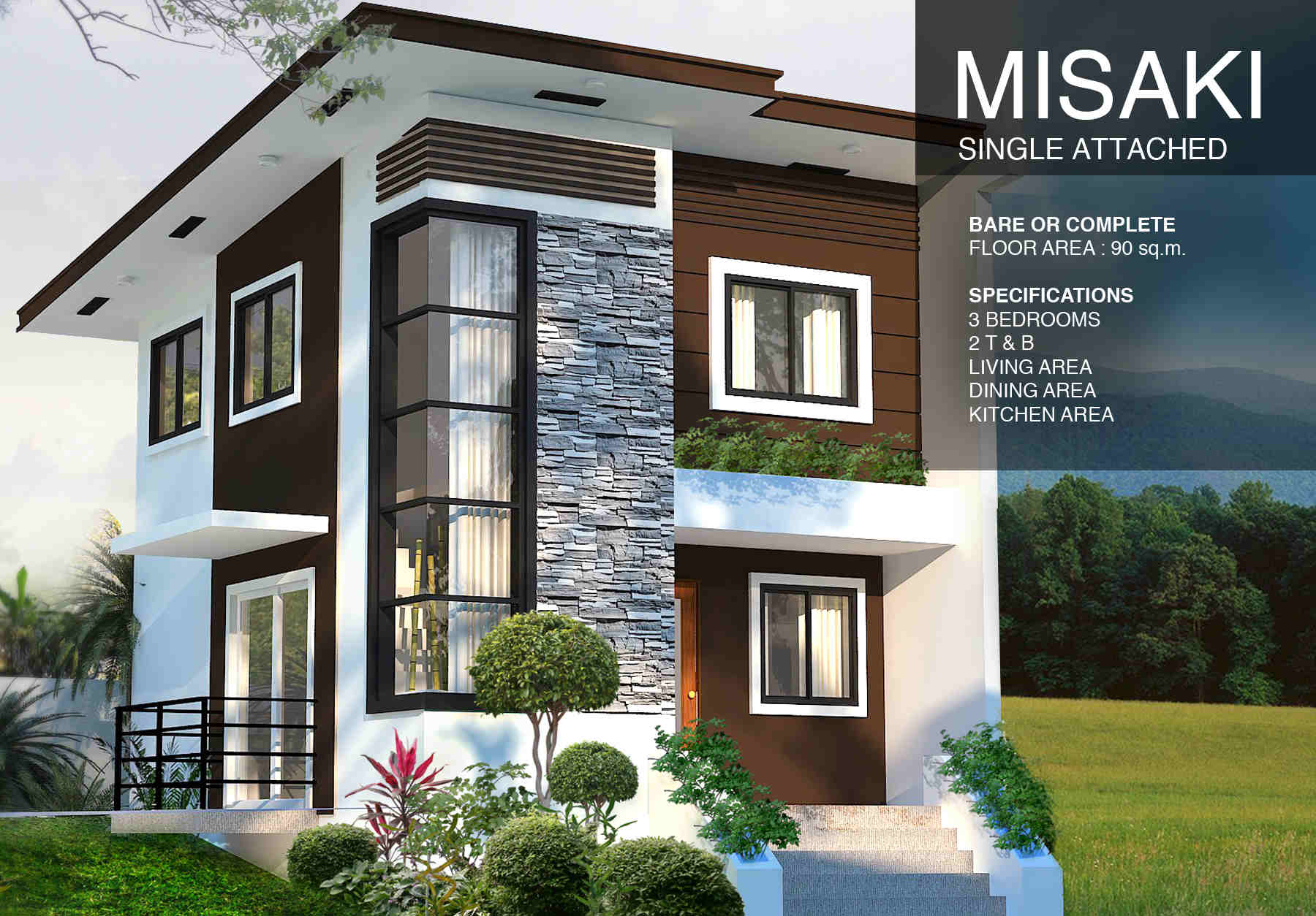 single garage extension ideas - Zuri Residences – Affordable House and Lot for Sale in