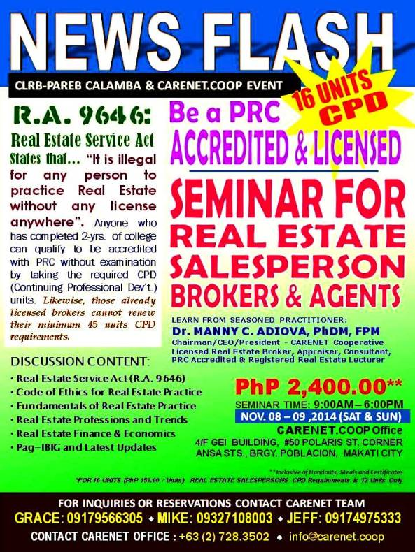 Seminar-for-real-estate-salepersons-brokers-agents-consultants-property-properties-for-sale