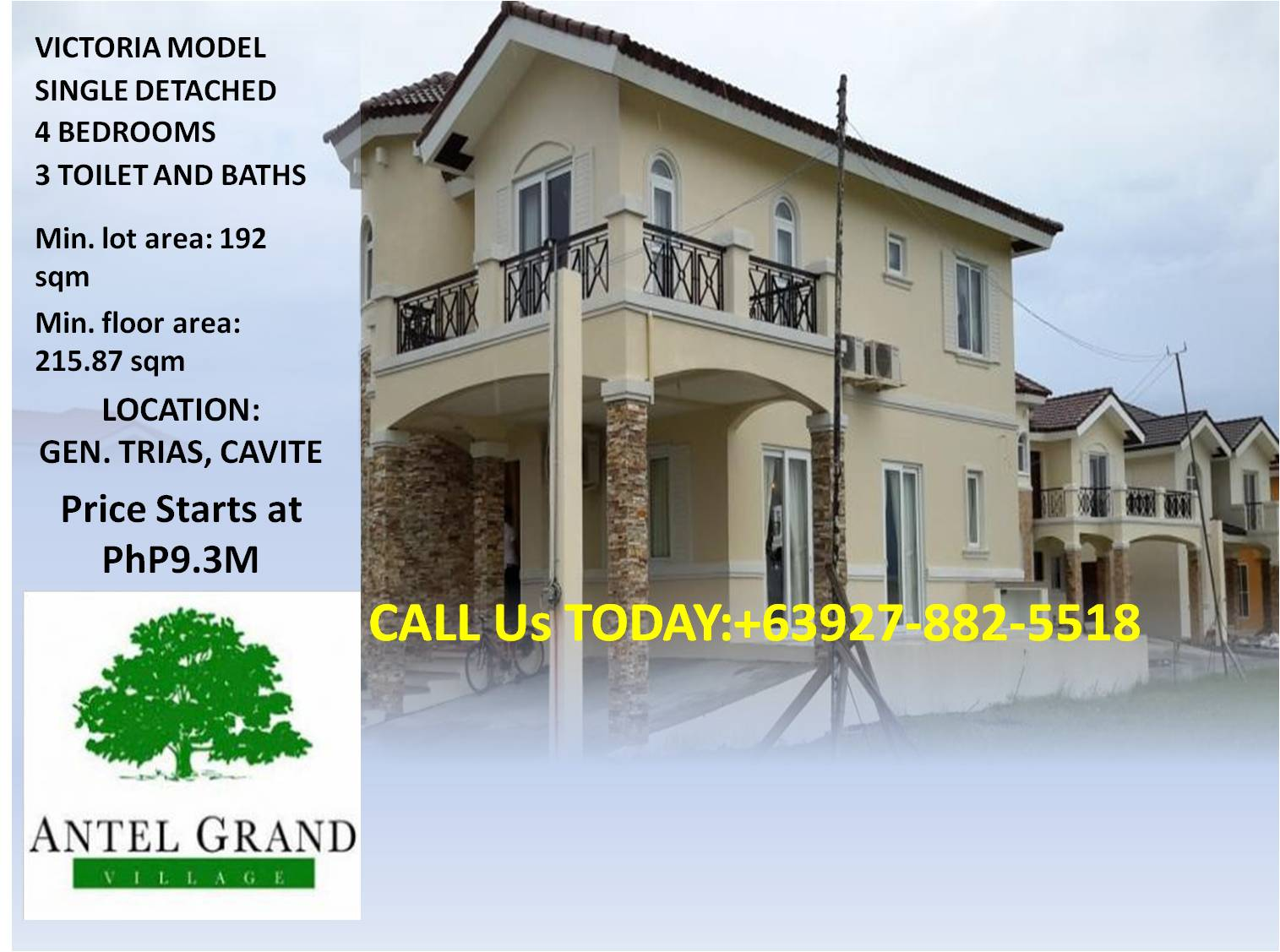 Real estate beautiful 200 sqm house and lot for sale in for Best house design for 100 square meter lot
