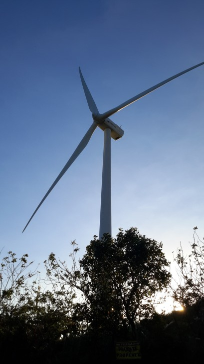 Real Windmills in Philippines